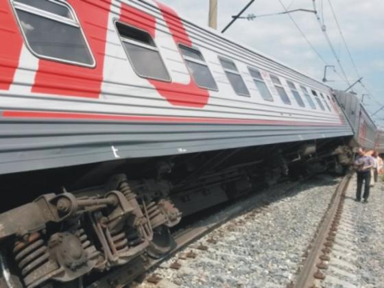 В Мордовии сошли с рельсов вагоны поезда Екатеринбург — Адлер
