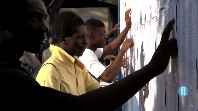 Выборы в Гаити. Кадр: lenouvelliste.com