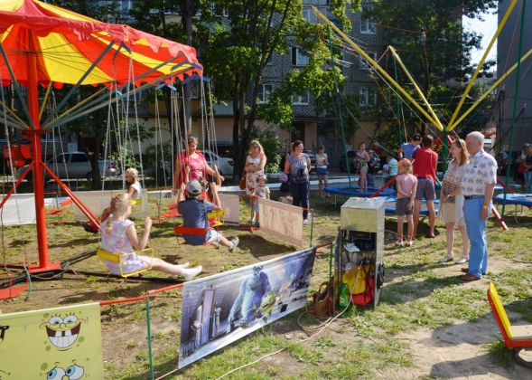 Для юных жителей Калуги провели спортивный праздник