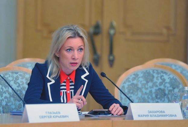 Посольство США в РФ поздравило Марию Захарову с новой должностью
