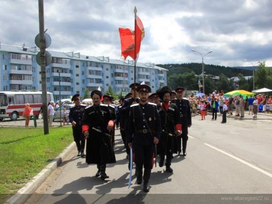 Казачество на Алтае: фестиваль казацкой культуры в Белокурихе