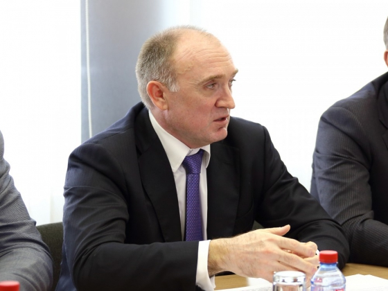 Борис Дубровский — губернатор Челябинской области.