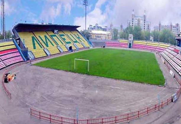 Стадион в Липецке.