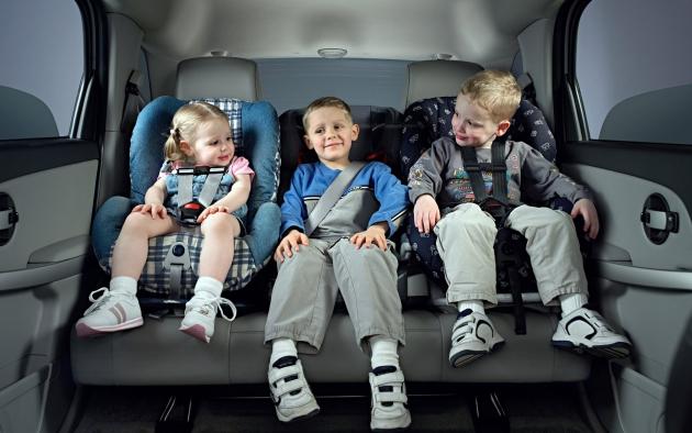 Автомобильные детские кресла.