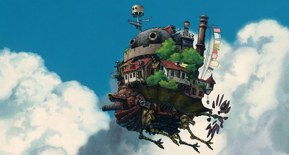 Добрым, миядзаки картинки из мультфильма ходячий замок