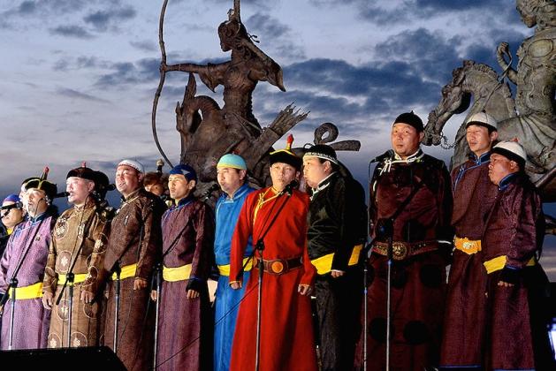 Тувинские хоомейжи. Фото: gov.tuva.ru