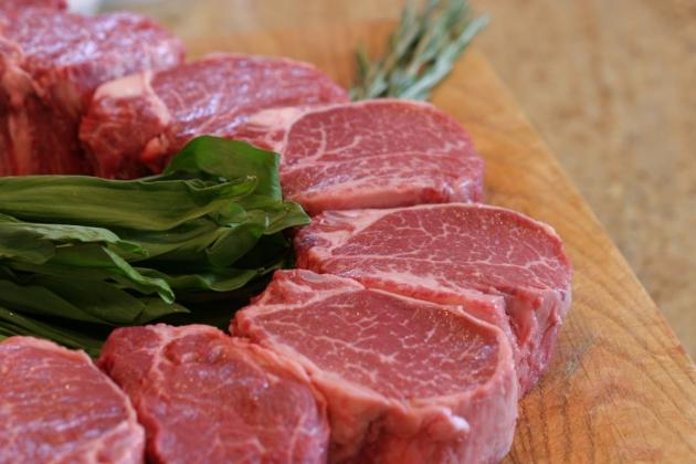 Свежее мясо.