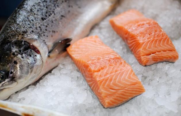 Красная рыба.