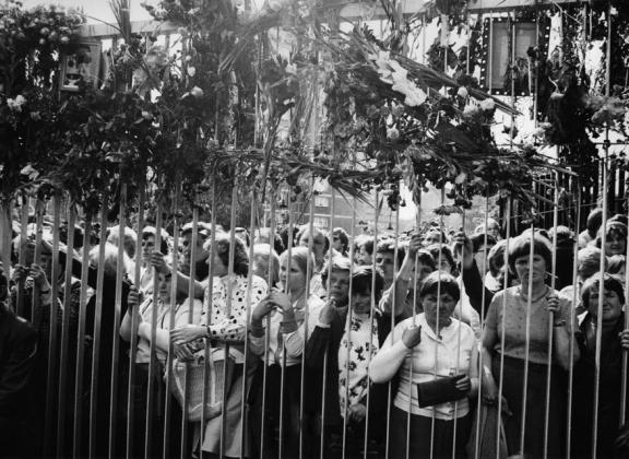 Польша. Гданьск, 1980 год.