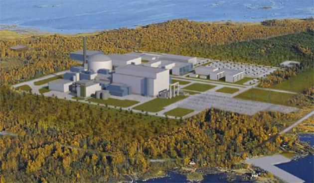 Проэкт новой атомной станции в Финляндии.