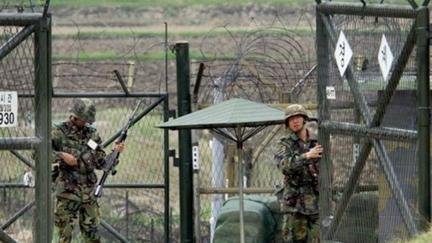 Граница Китайской Народной Демократической Республики.