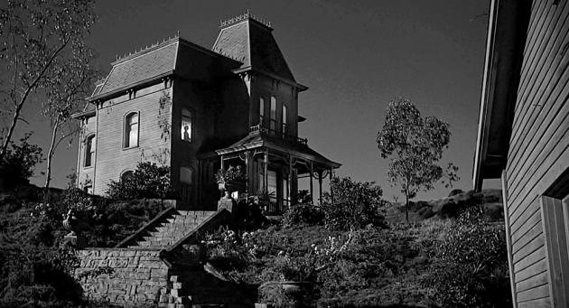 Киноцитата из фильма «Психоз» (реж. А. Хичкок, 1960)