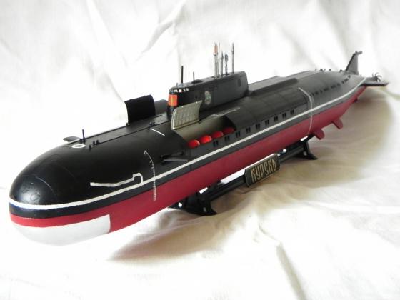 Модель подводного крейсера К-141 «Курск».