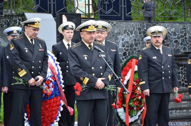 В мурманском Видяево почтили память экипажа подлодки «Курск»