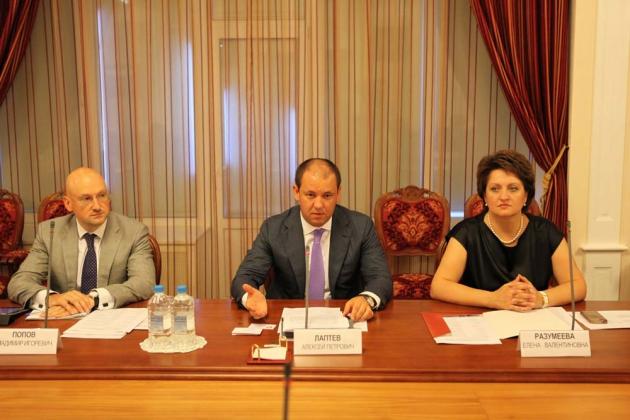 Встреча с с членами делегации Республики Беларусь.