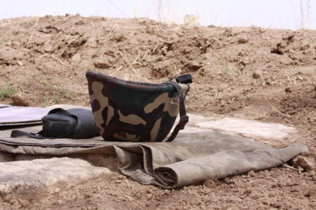 От азербайджанской снайперской пули погиб карабахский военнослужащий