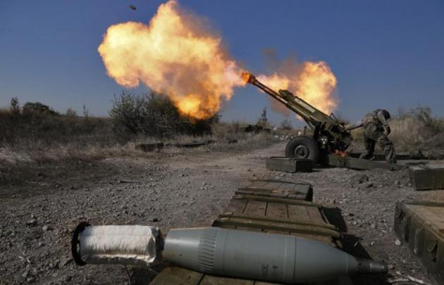 ВСУ вновь обстреляли Горловку из тяжёлых орудий
