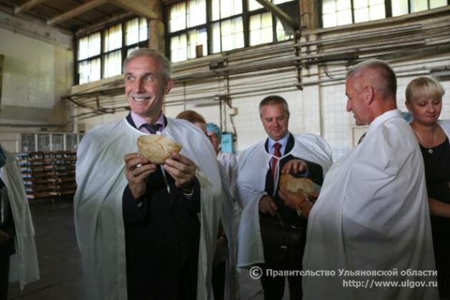 Ульяновский губернатор выступил инициатором федерального «закона о хлебе»