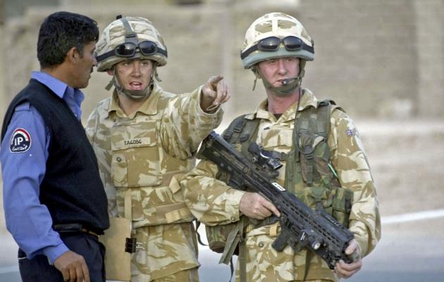 Британцы в Ираке.