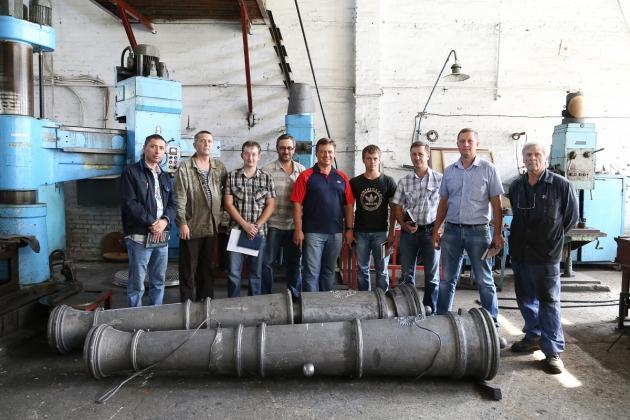 На Бийском олеумном заводе отлили первые пушки