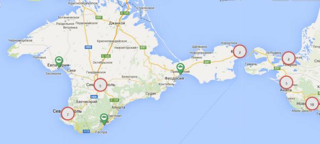 Крым и Севастополь вернули на карту вузов России
