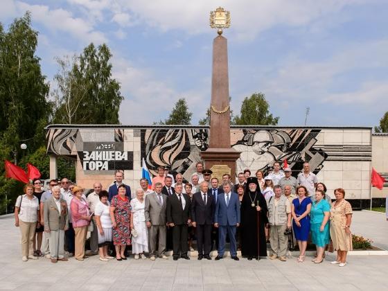 В Калужской области установлена стела «Рубеж воинской славы»