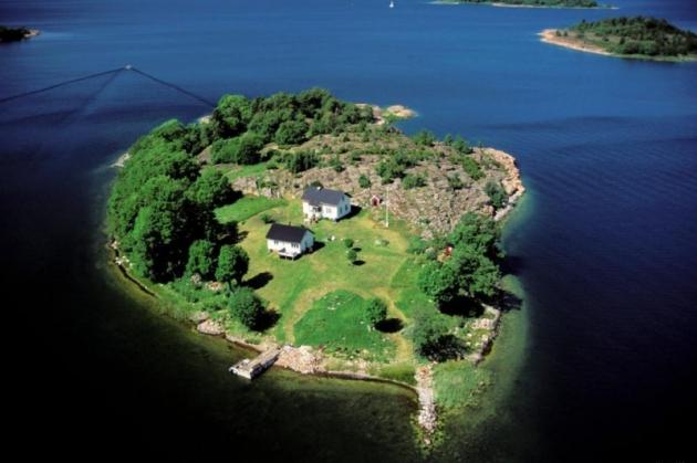 Аландские острова.