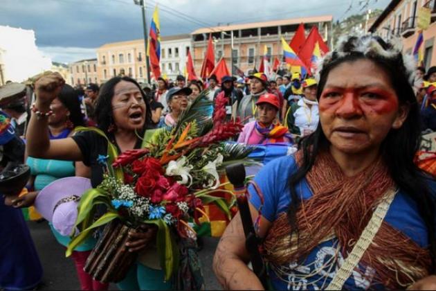 Забастовка в Эквадоре