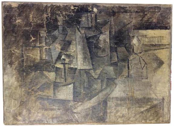 Пабло Пикассо. Парикмахерша. 1911 год