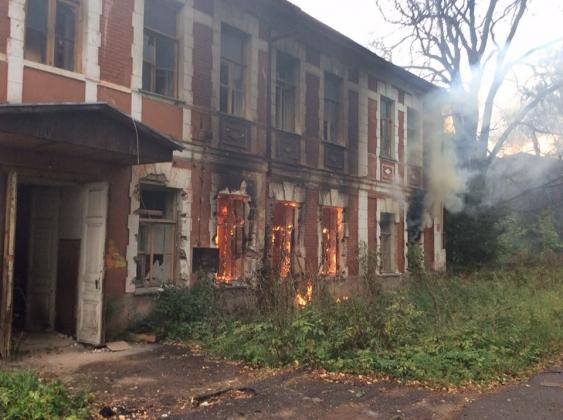 Подмосковный памятник культуры горел дважды за 4 дня