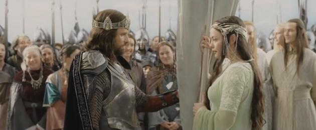 Цитата из х/ф «Властелин колец: Возвращение короля» (реж. П. Джексон, 2003)
