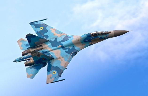 Су-27 ВВС Украины.