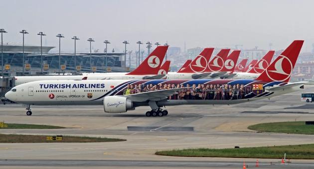 Boeing 777-300ER компании Turkish Airlines.