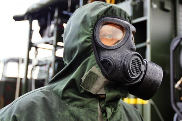 Костюм химической защиты.
