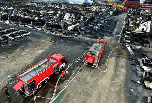 Катастрофа в Тяньцзине.