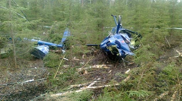 В Нерюнгри рухнул вертолет – пострадали три человека