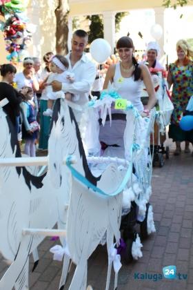 Парад колясок в Калуге посвятили Дню города и Году литературы