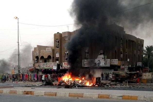 Взрыв в Багдаде.
