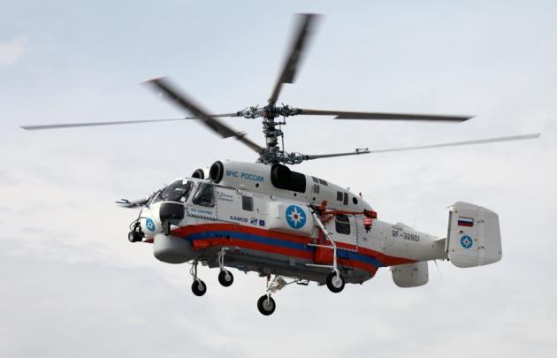Вертолет МЧС еще раз попытается добраться к месту крушения Ми-8