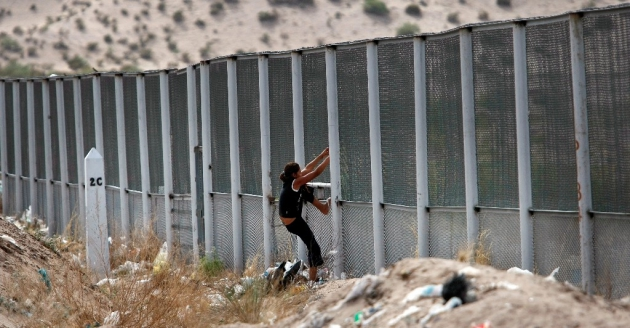 Нелегальная иммиграция в США.