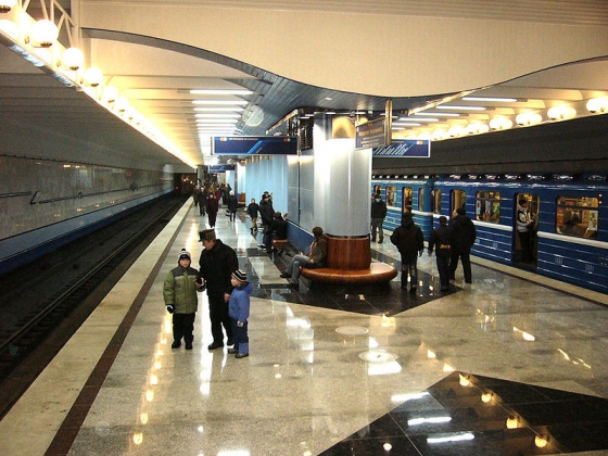 Минское метро.