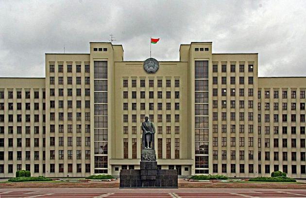 Здание правительства республики Беларусь.