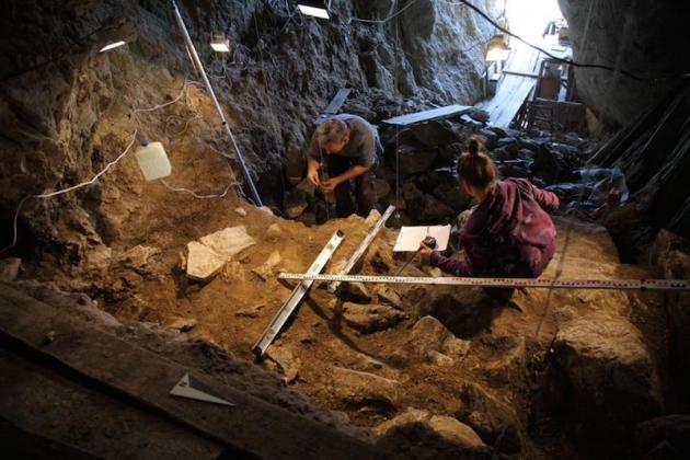 На Алтае найдены останки человека, жившего 50 тыс. лет назад