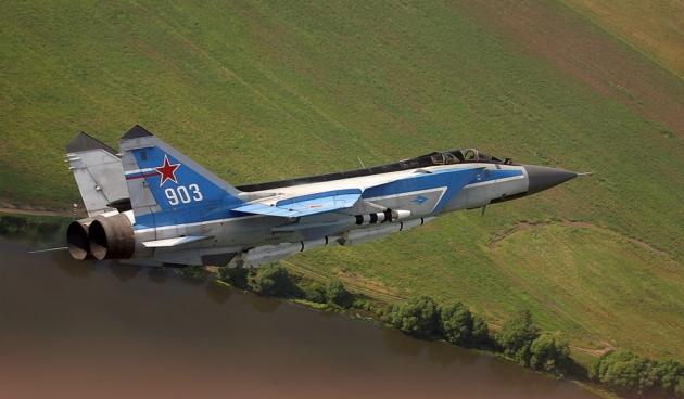 СМИ: Россия поставила Сирии 6 истребителей МиГ-31