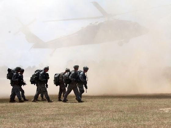 Военные учения США.
