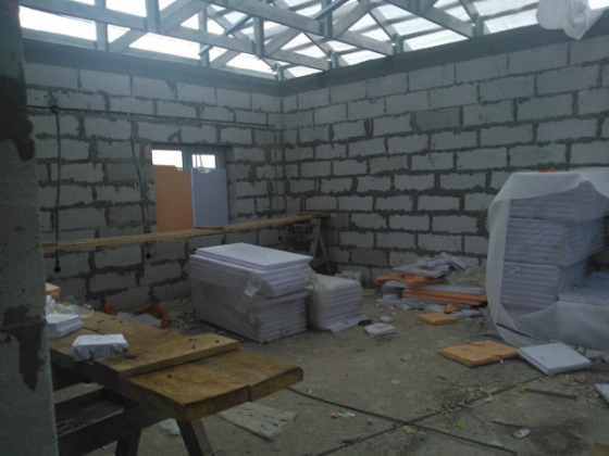 Строительство жилья для погорельцев Хакасии. Фото: 19rus.info
