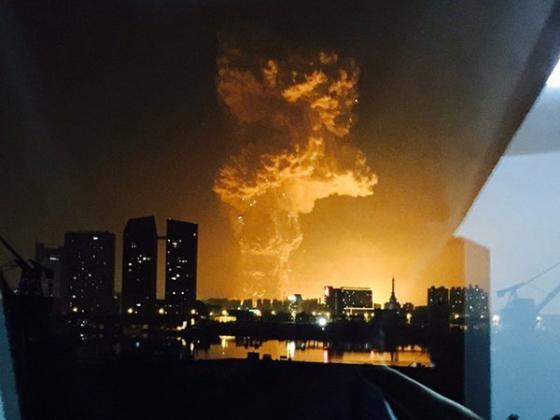 Взрыв в Тяньцзине.