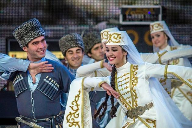 Ингушский танец.