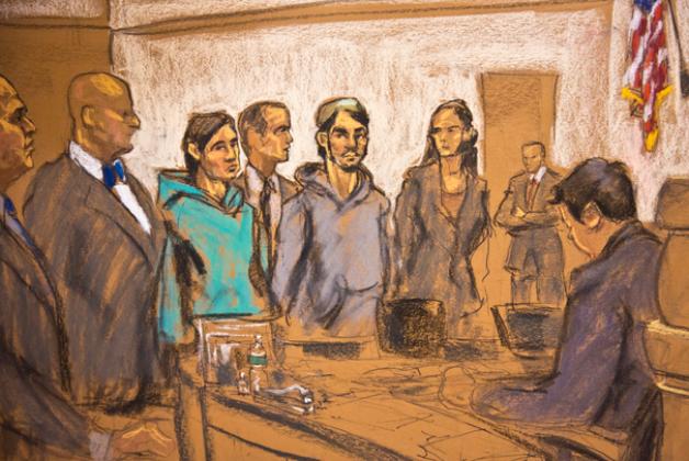 Суд над Абдурасулом Джурабоевым.