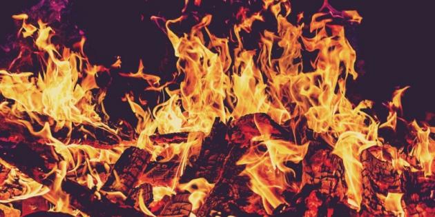 Свыше 120 кг санкционного бекона сожгли в Астраханской области